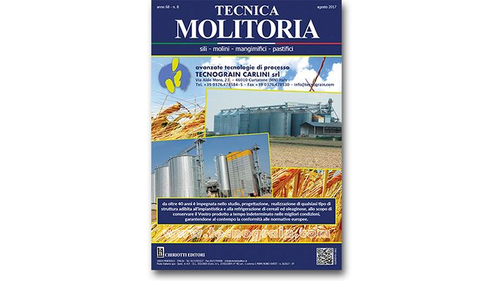 "The August issue of ""Tecnica Molitoria"" is now available"