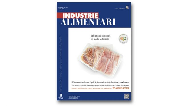 "The April issue of ""Industrie Alimentari"" is now available"