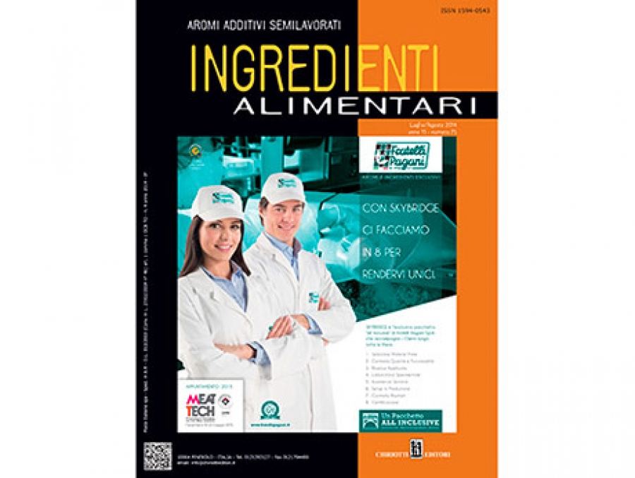 "The latest issue of ""Ingredienti Alimentari"" is now shipping"