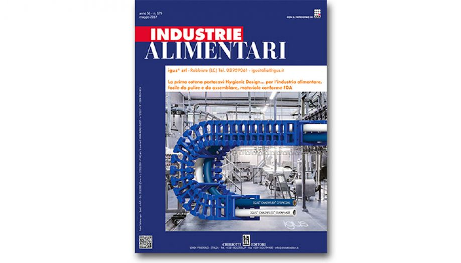 The May issue of Industrie Alimentari is now available