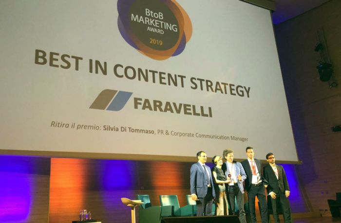 "Faravelli's ""The Best ingredients campaign"" gets three awards for B2B communication"