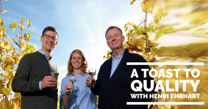 Passion for winemaking: a family tradition