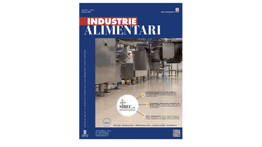 "The October issue of ""Industrie Alimentari"" is now available"