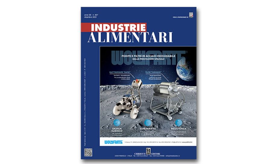 "The new issue of ""Industrie Alimentari"" is now available"
