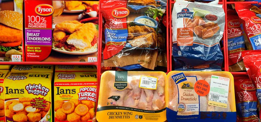 The packaging market for poultry products
