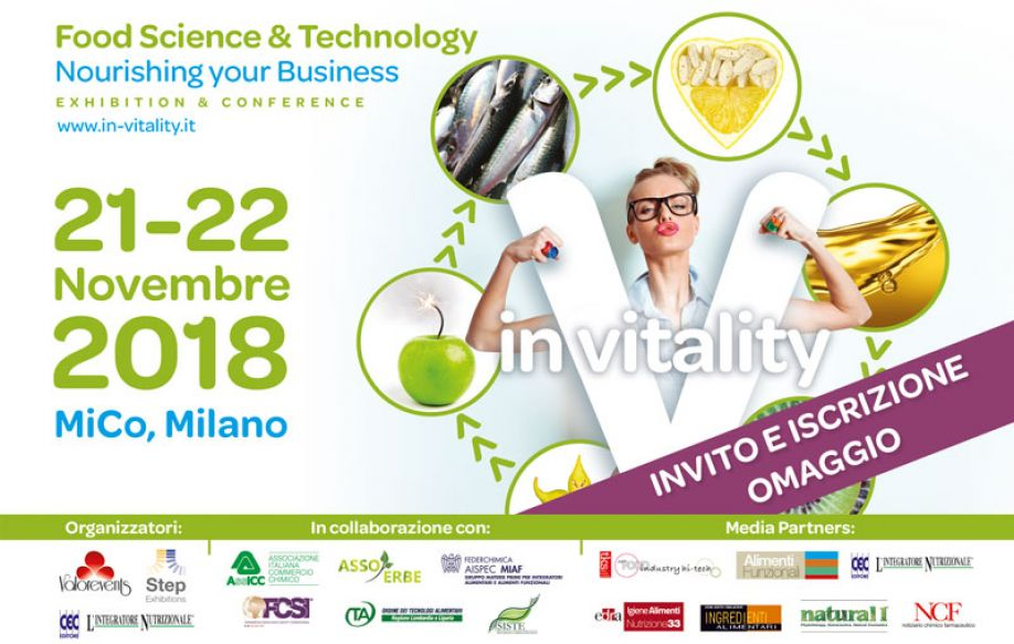 Functional foods, Health Foods and Supplements: Science and Insights in the heart of Milan