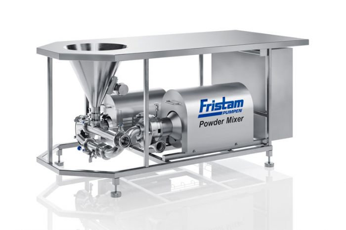 FRISTAM - the perfect solutions for mixing powders and liquids