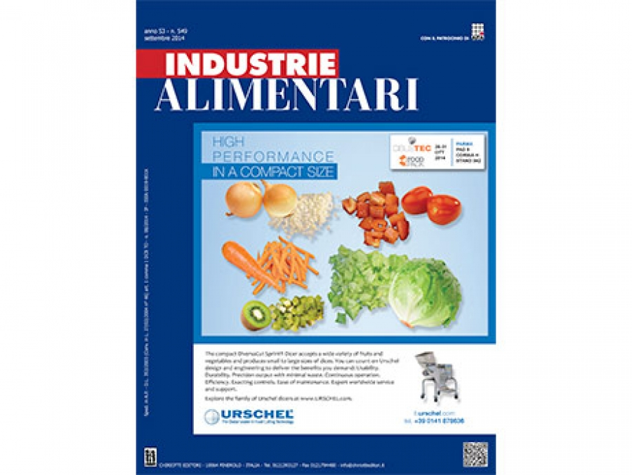 "The news issue of ""Industrie Alimentari"" is now available"