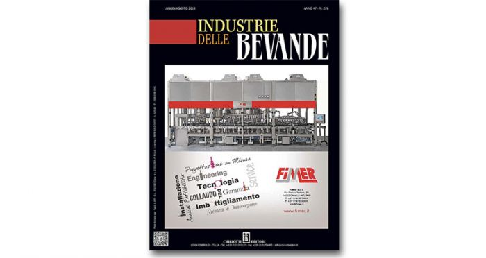 "The Summer Issue of ""Industrie delle bevande"" is now available"