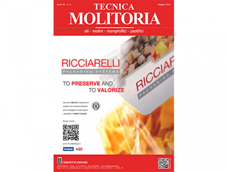 The May 2014 issue of Tecnica Molitoria is now available