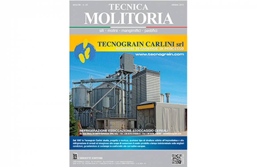 "The October issue of ""Tecnica Molitoria"" is now available"