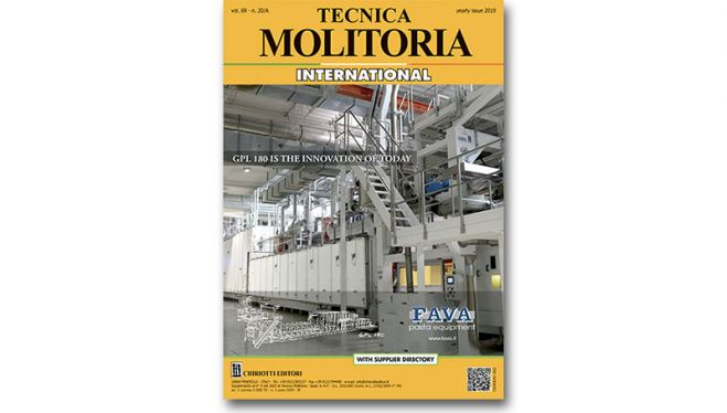 "È disponibile ""Tecnica Molitoria International"" 2019"