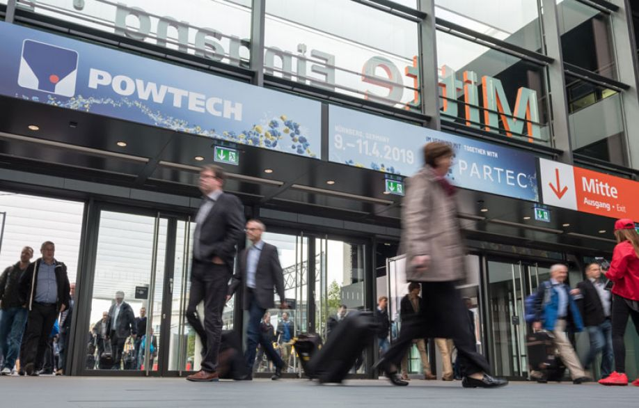 Powtech: meeting point for all experts in the field powder and bulk solids