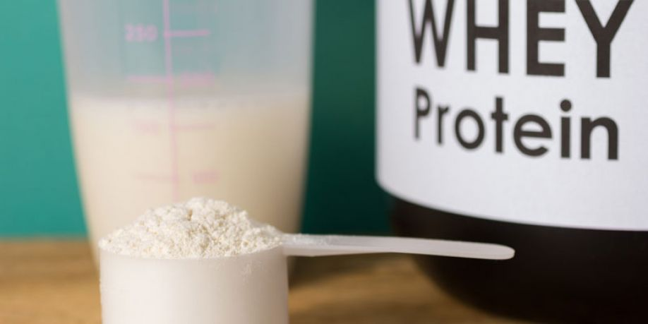 UV irradiation as a thermal treatment for producing stabilized milk whey