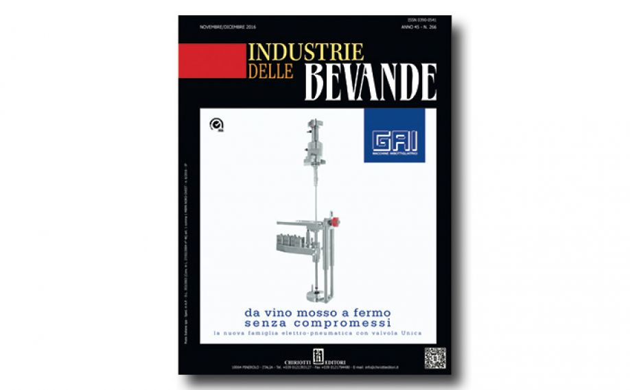 The November issue of Industrie delle Bevande is now available