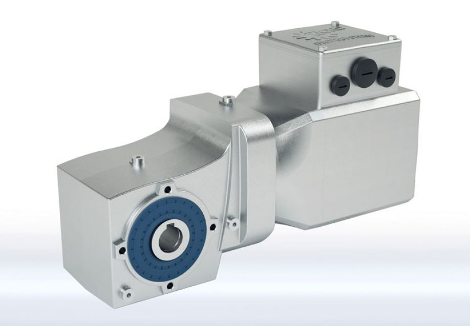 The new IE5+ synchronous motors are suitable for intralogistics and wash-down applications as a system solution with gear units and inverters from NORD DRIVESYSTEMS.