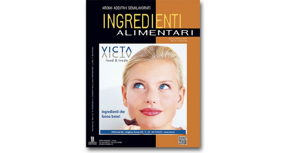 "The new issue of ""Ingredienti Alimentari"" is now available"