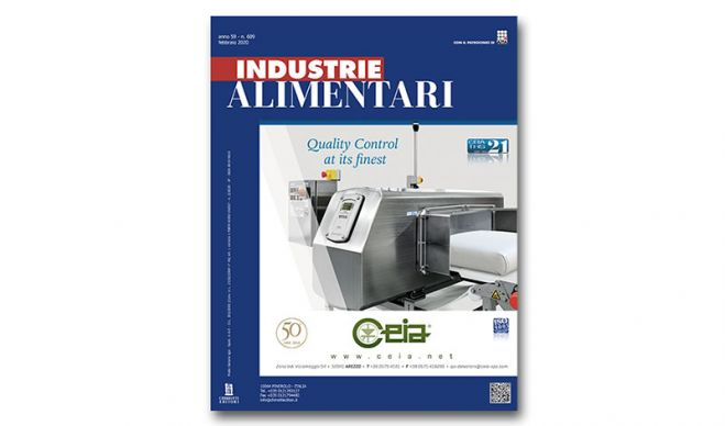 "The February issue of ""Industrie Alimentari"" is now available"