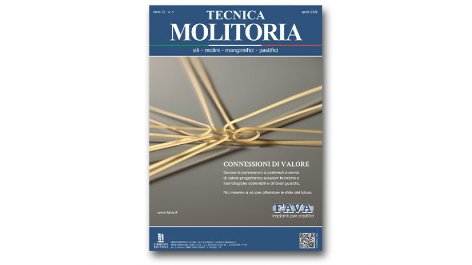 "The April issue of ""Tecnica Molitoria"" is now available"