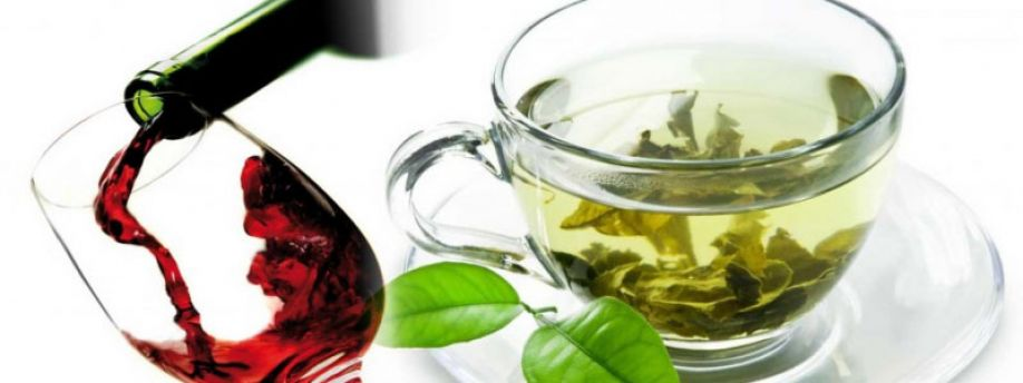 Compounds found in green tea and red wine may block formation of toxic metabolites