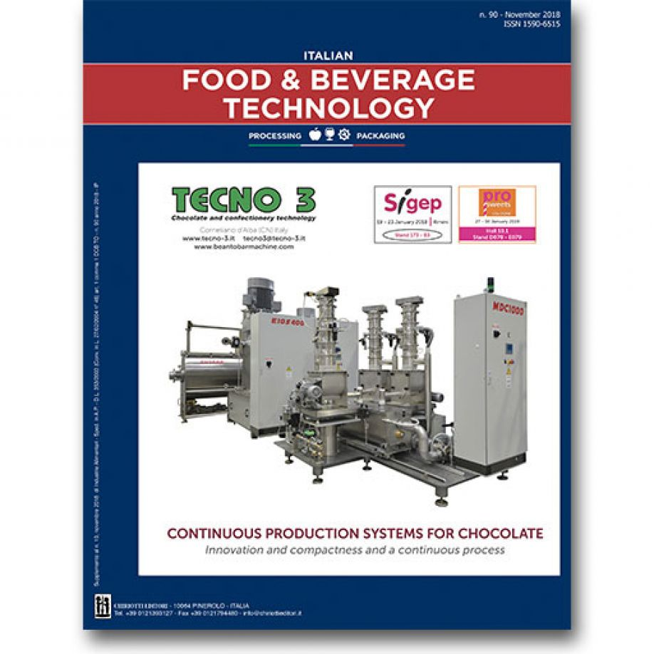 "The latest issue of ""Italian Food & Beverage Technology"" is now available"