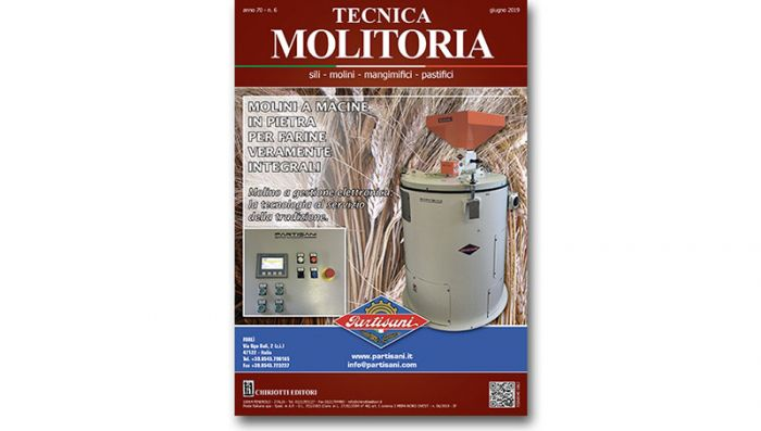 "The June issue of ""Tecnica Molitoria"" is now available"