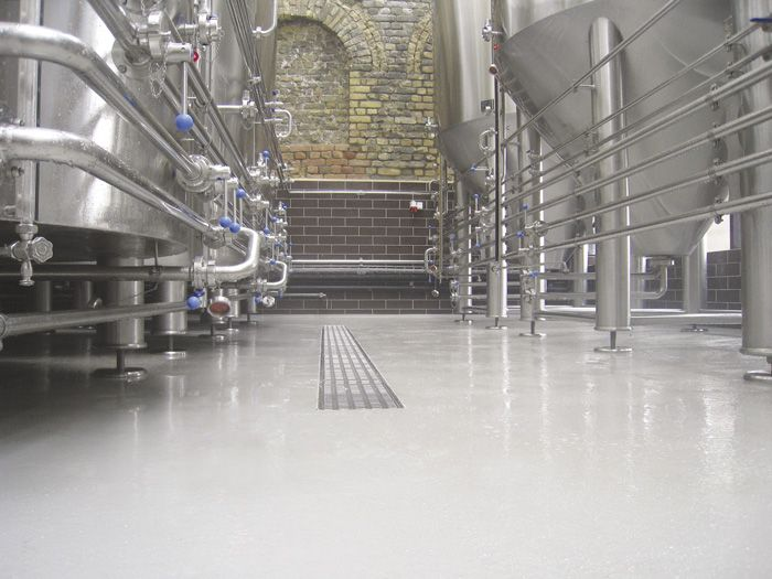 "Mapei's solution for the ""Aldaris"" brewery of Riga in Lithuania"