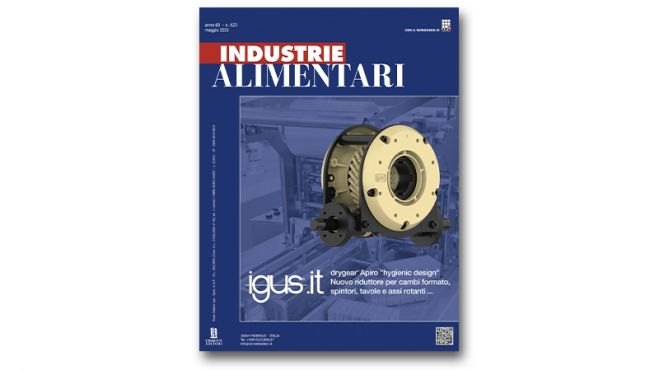 "The May issue of ""Industrie Alimentari"" is now available"