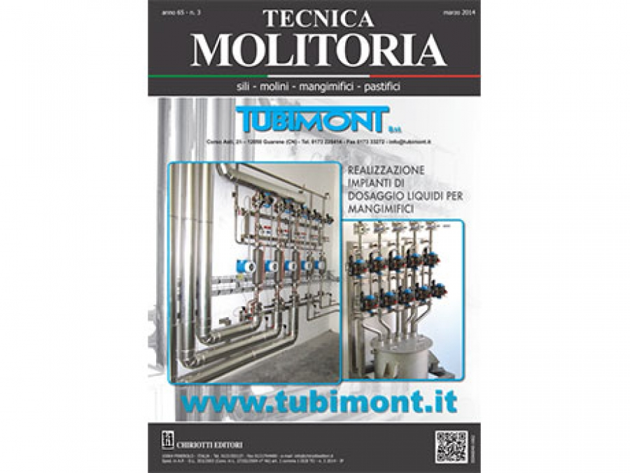 Tecnica Molitoria of March is now in shipping