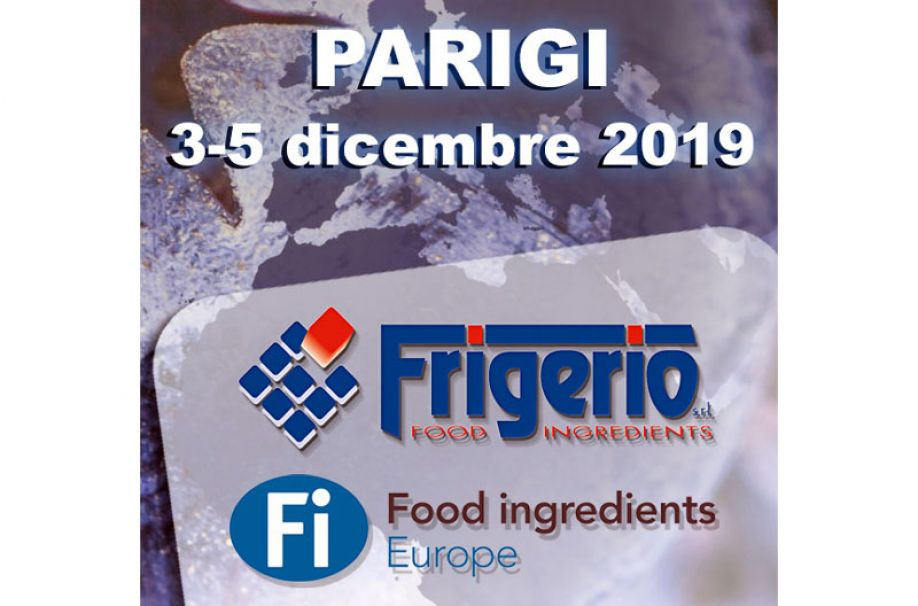 Frigerio at the Food Ingredients Europe 2019 in Paris