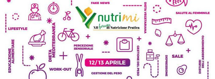 "Crazy for food between social, superfood and diet ""do-it-yourself"": the experts will talk about that during NutriMI 2018"