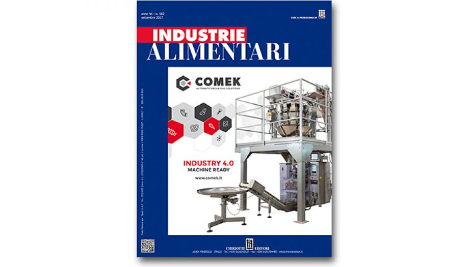 The September issue of Industrie Alimentari is now available