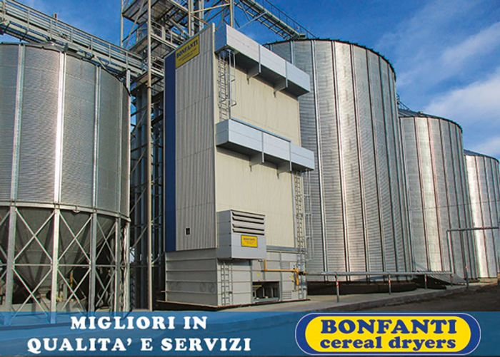 BONFANTI cereal dryers: experience, technology, innovation and continue research