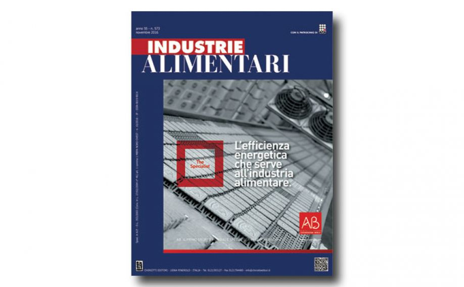 "The November issue of ""Industrie Alimentari"" is now available"
