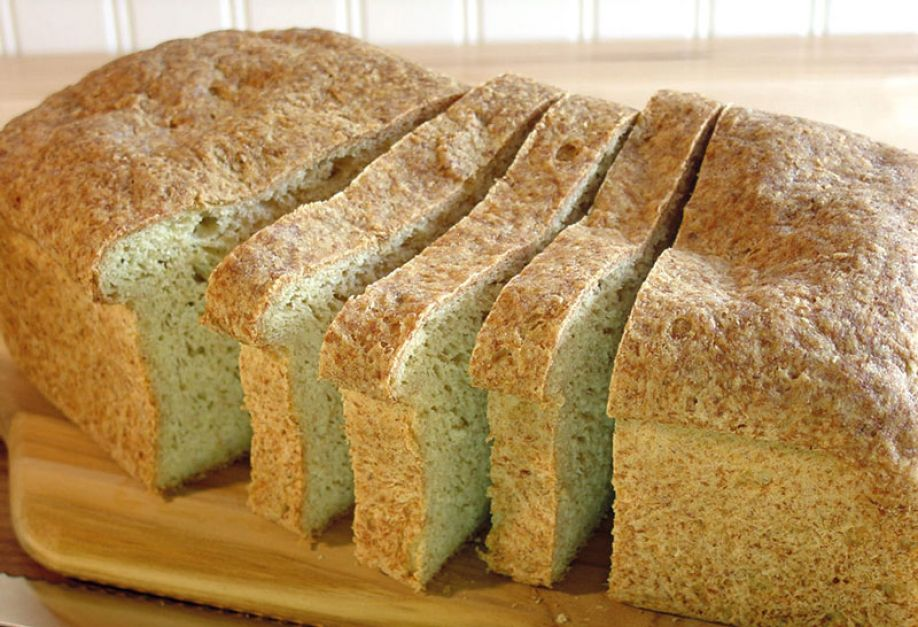 Flax and wattle seed powders enhance volume and softness of gluten-free bread